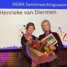 Winnaar SIGRA Samenwerkingsaward 2018: Henrieke van Diermen!
